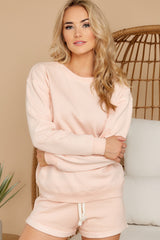 4 Weekend Retreat Peach Beach Sweatshirt at reddress.com