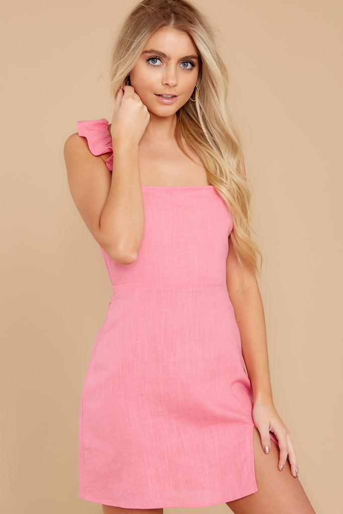 1 Nothing More Nothing Less Light Pink Dress at reddress.com