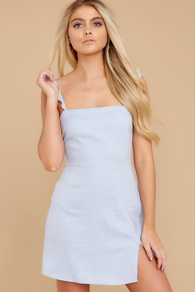1 Do What You Need Periwinkle Dress at reddressboutique.com