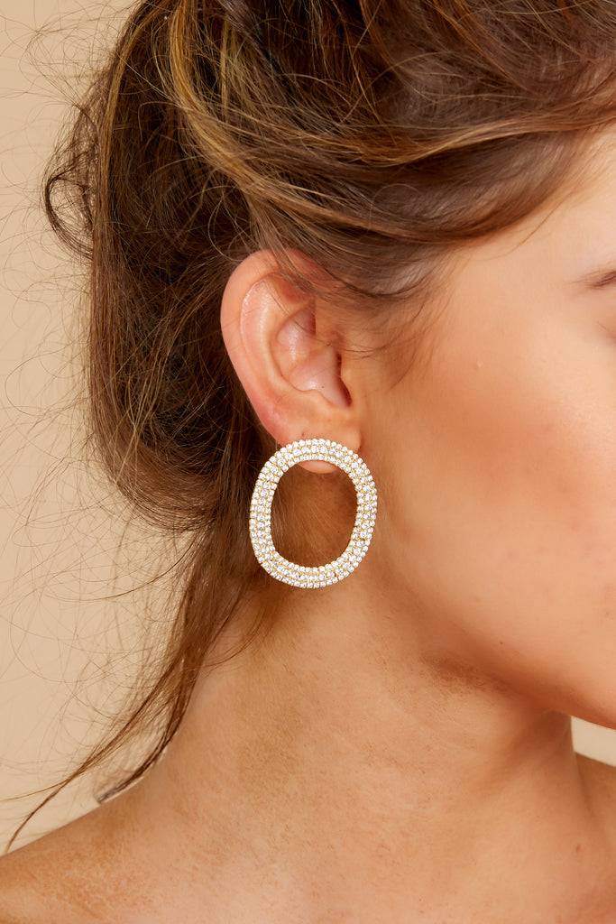 1 Totally Rock Gold Hoop Earrings at reddress.com