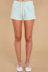 The Way Life Goes Beach Mint Shorts