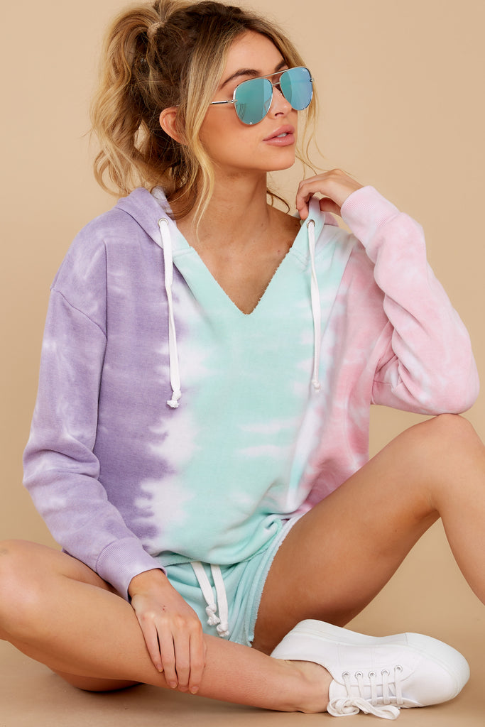 1 Cozy As Can Be Rose Pink Sweatshirt at reddress.com