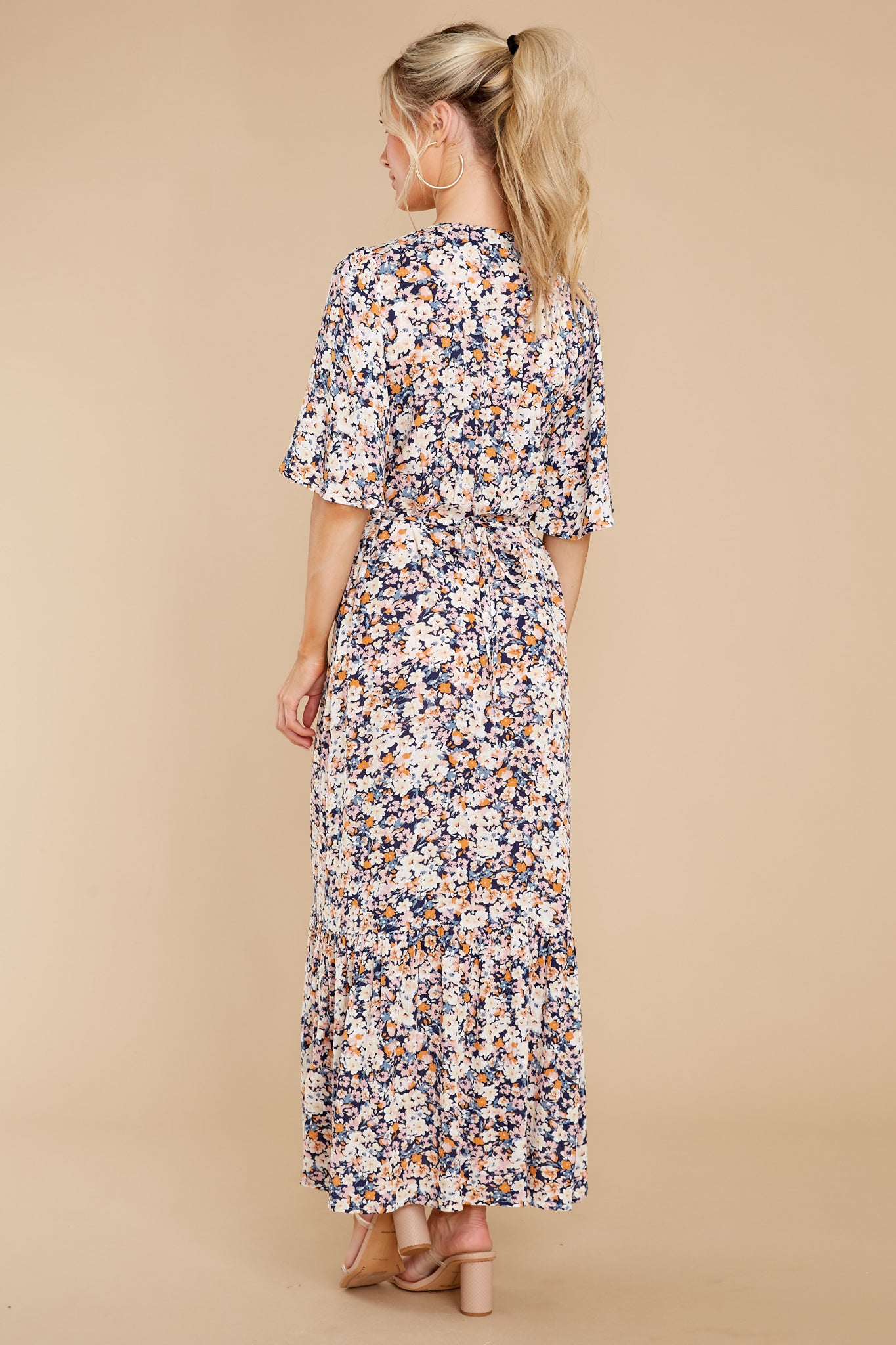 8 Ava Multi Midi Dress at reddress.com