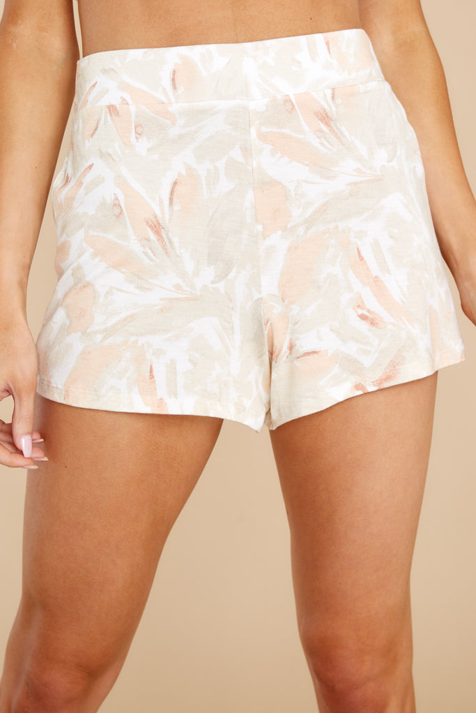 1 Summerland Sun Tan Floral Shorts at reddress.com