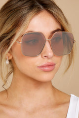 1 Charmed And Dangerous Pink Sunglasses at reddress.com