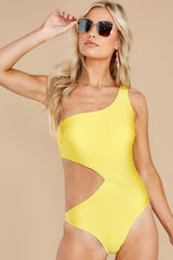 6 Find A Wave Yellow One Piece Swimsuit at reddress.com