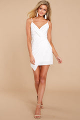 3 Killing It White Dress at reddressboutique.com