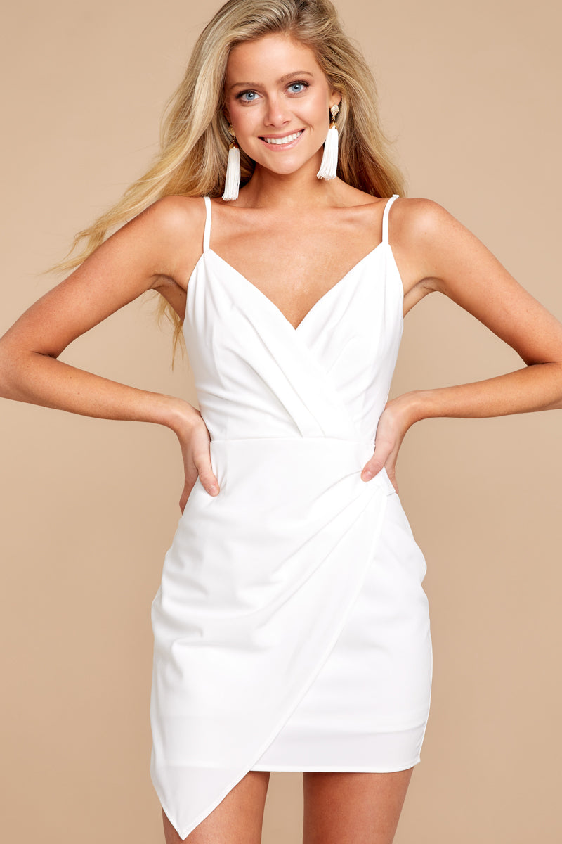 1 Killing It White Dress at reddressboutique.com