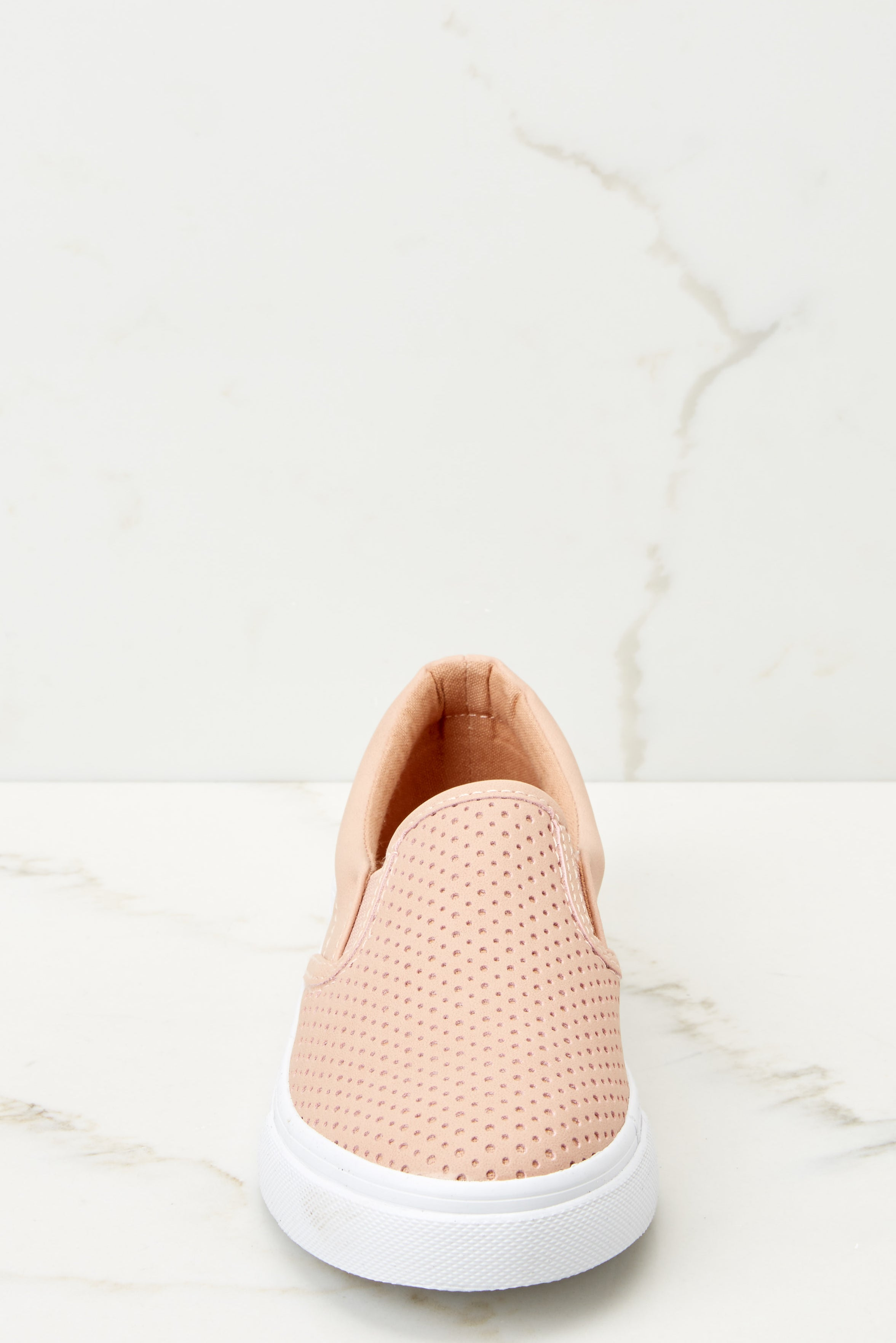 2 One Step Away Light Pink Slip On Sneakers at reddressboutique.com