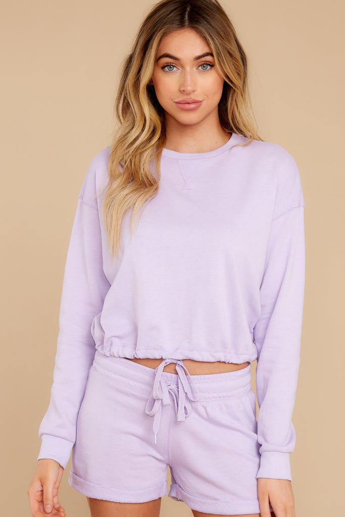 1 Maxine Purple Multi Knit Sweater at reddress.com