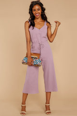 3 Late Summer Evenings Violet Jumpsuit at reddressboutique.com