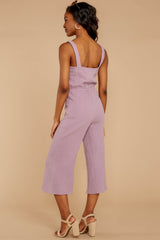 7 Late Summer Evenings Violet Jumpsuit at reddressboutique.com