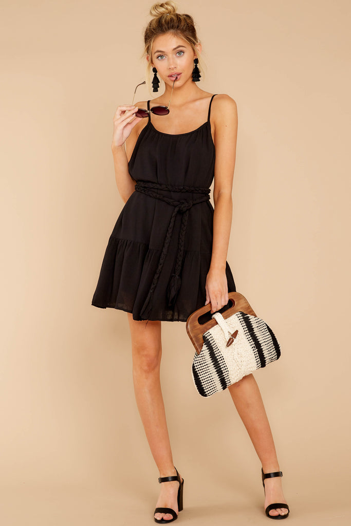 1 Never Wait Black Dress at reddress.com