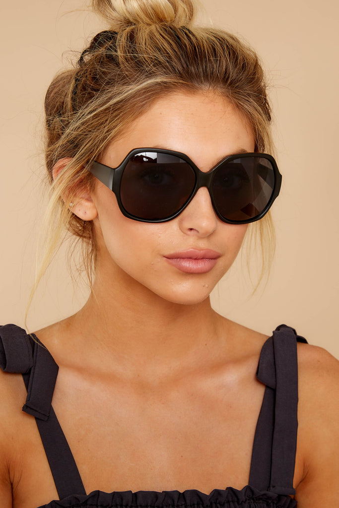 1 Lickety Split Black Smoke Fade Sunglasses at reddressboutique.com