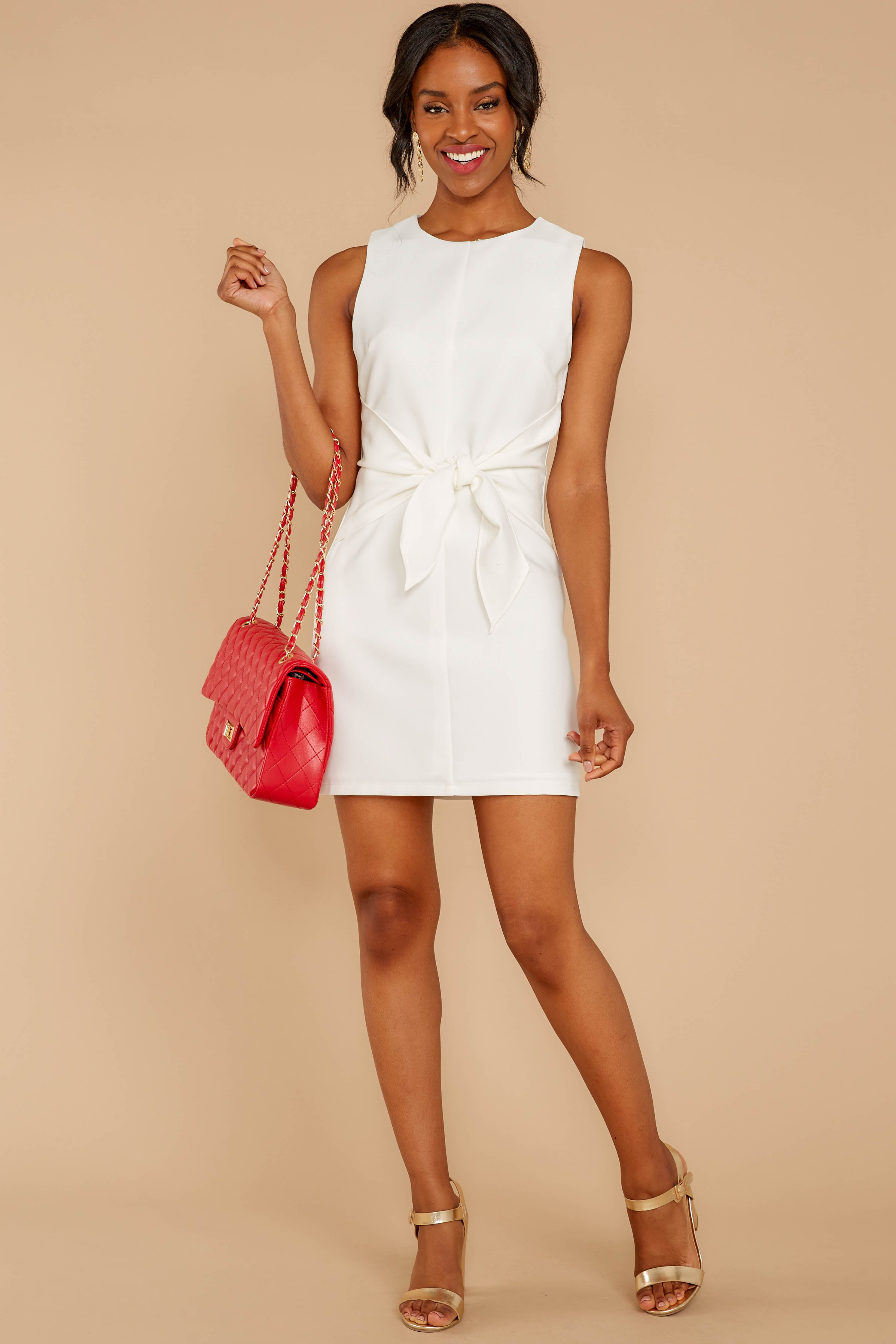 3 Must Be Dreaming White Dress at reddressboutique.com