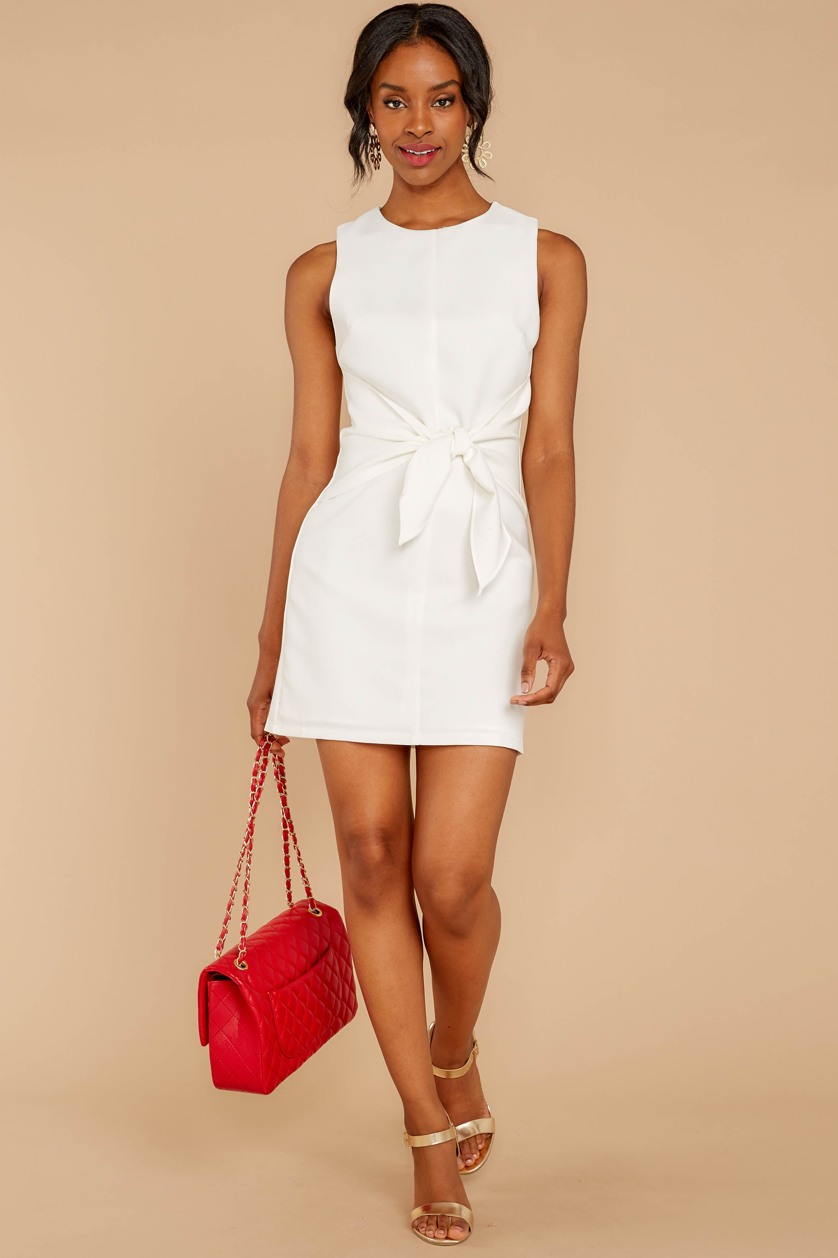 2 Must Be Dreaming White Dress at reddressboutique.com
