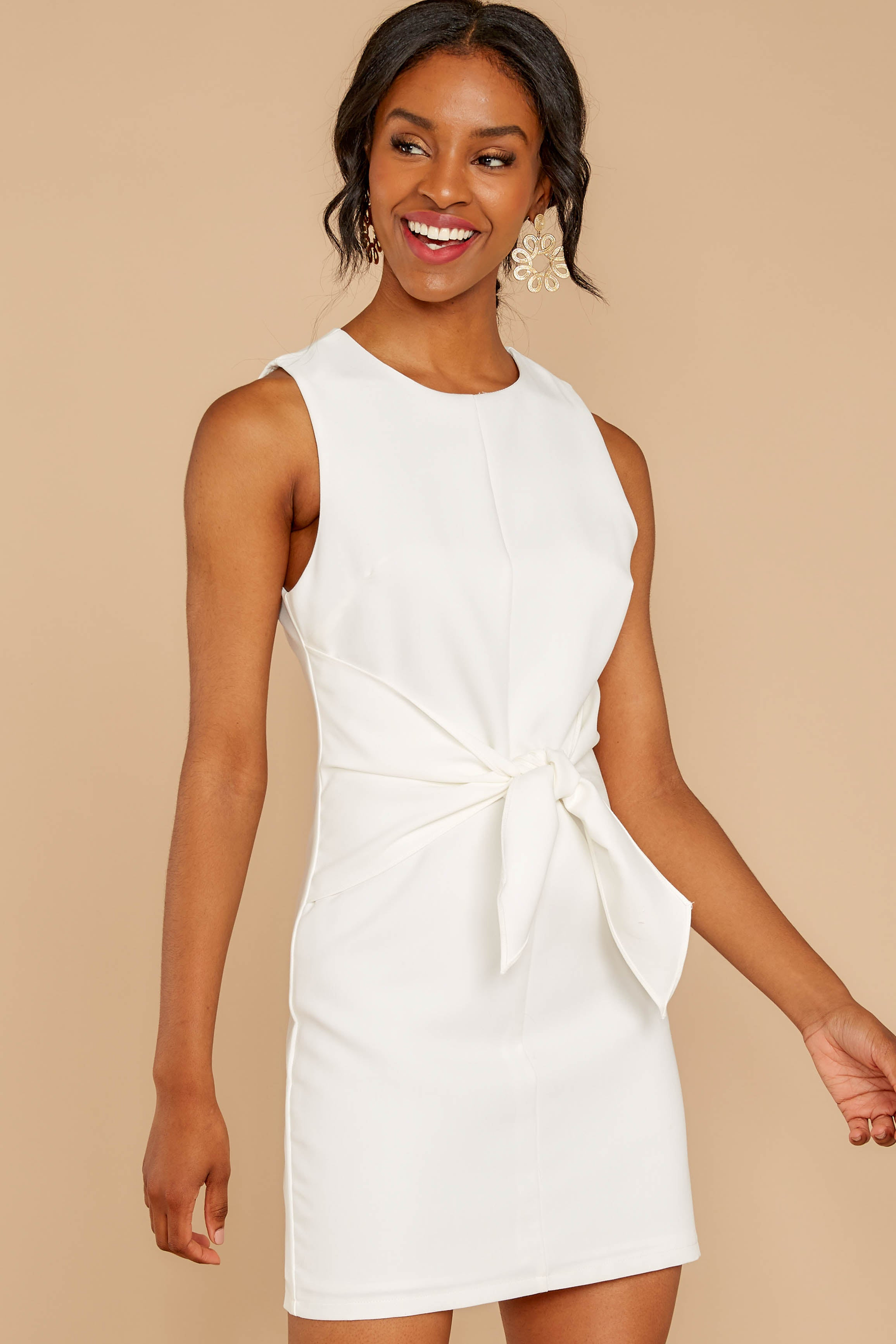 4 Must Be Dreaming White Dress at reddressboutique.com