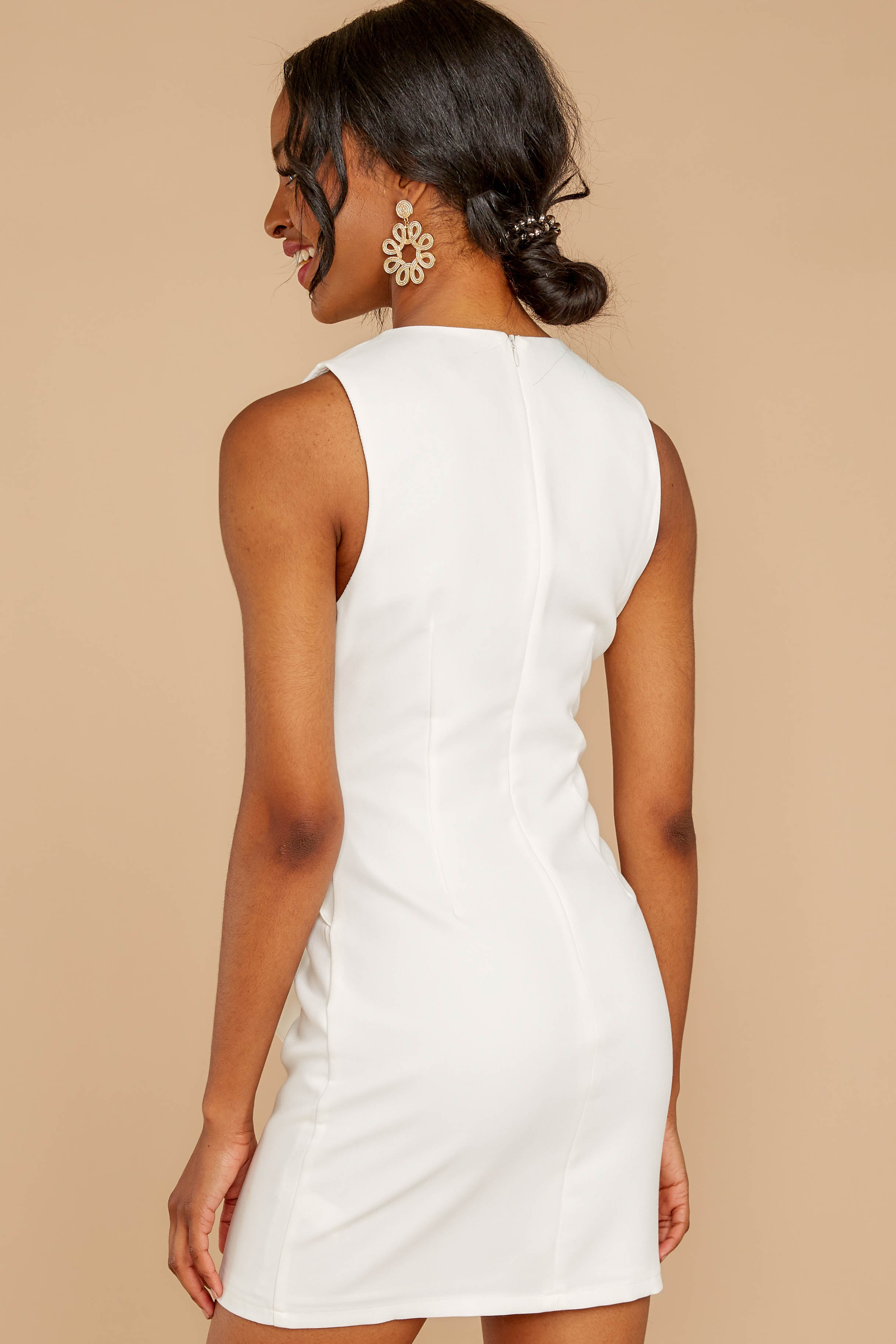 6 Must Be Dreaming White Dress at reddressboutique.com