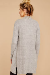 8 CozyChic Lite® Pewter Long Weekend Cardi at reddressboutique.com