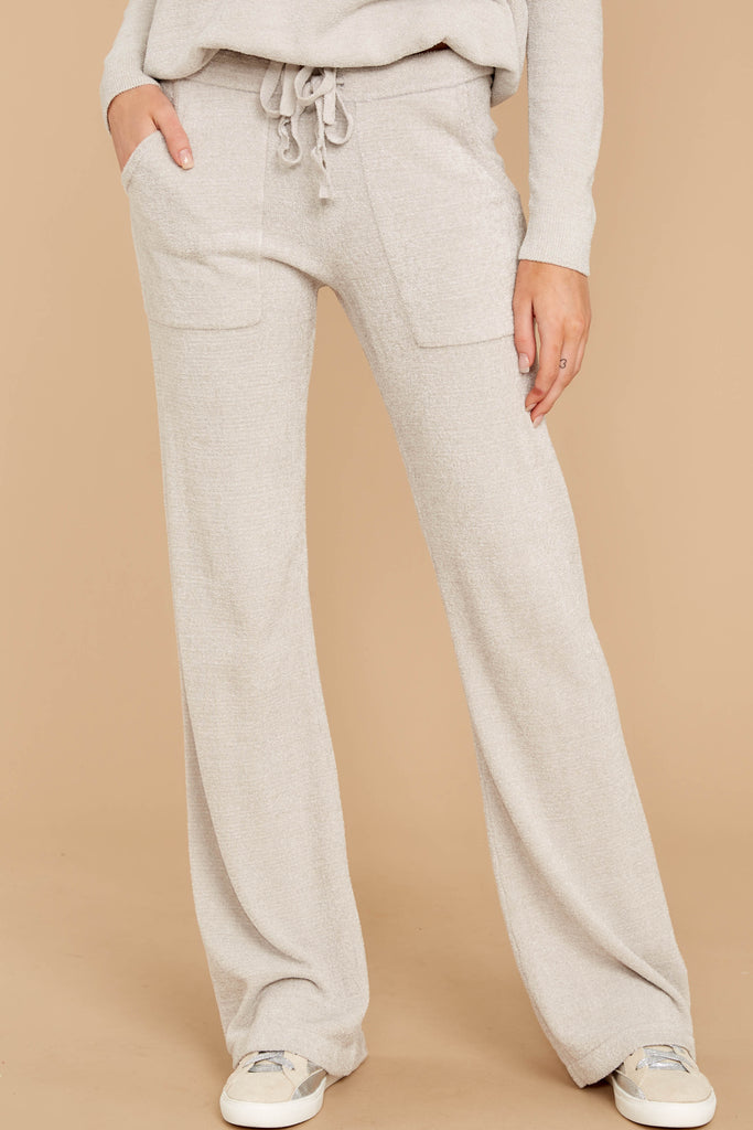 1 CozyChic Ultra Lite® Blue Water Track Pants at reddressboutique.com