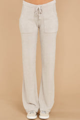 2 CozyChic Ultra Lite® Fog Grey Lounge Pants at reddressboutique.com