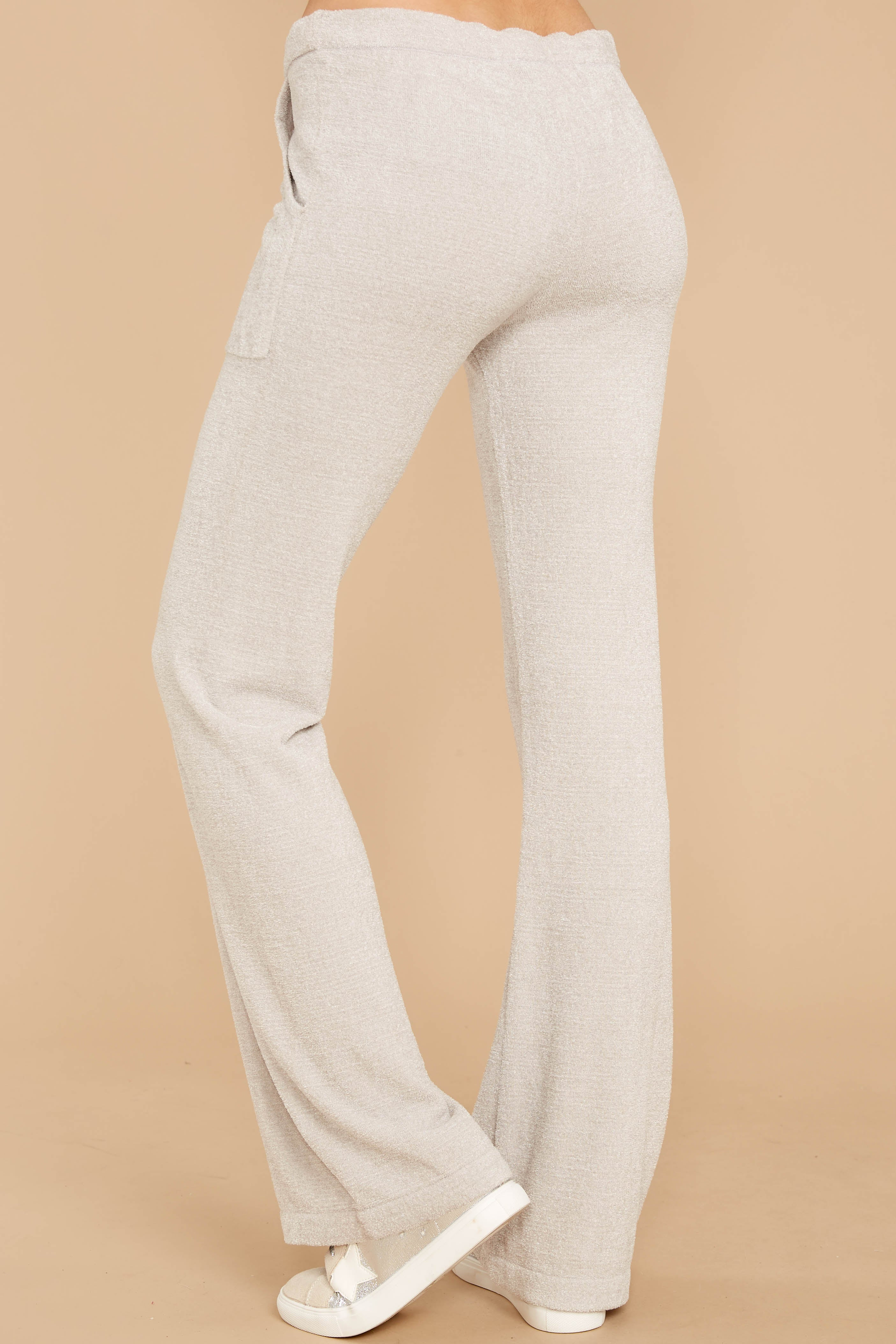 3 CozyChic Ultra Lite® Fog Grey Lounge Pants at reddressboutique.com