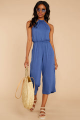 4 No Hesitations Parisian Blue Jumpsuit at reddressboutique.com