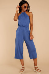 1 No Hesitations Parisian Blue Jumpsuit at reddressboutique.com