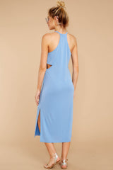 6 Casual Obsession Periwinkle Midi Dress at reddressboutique.com