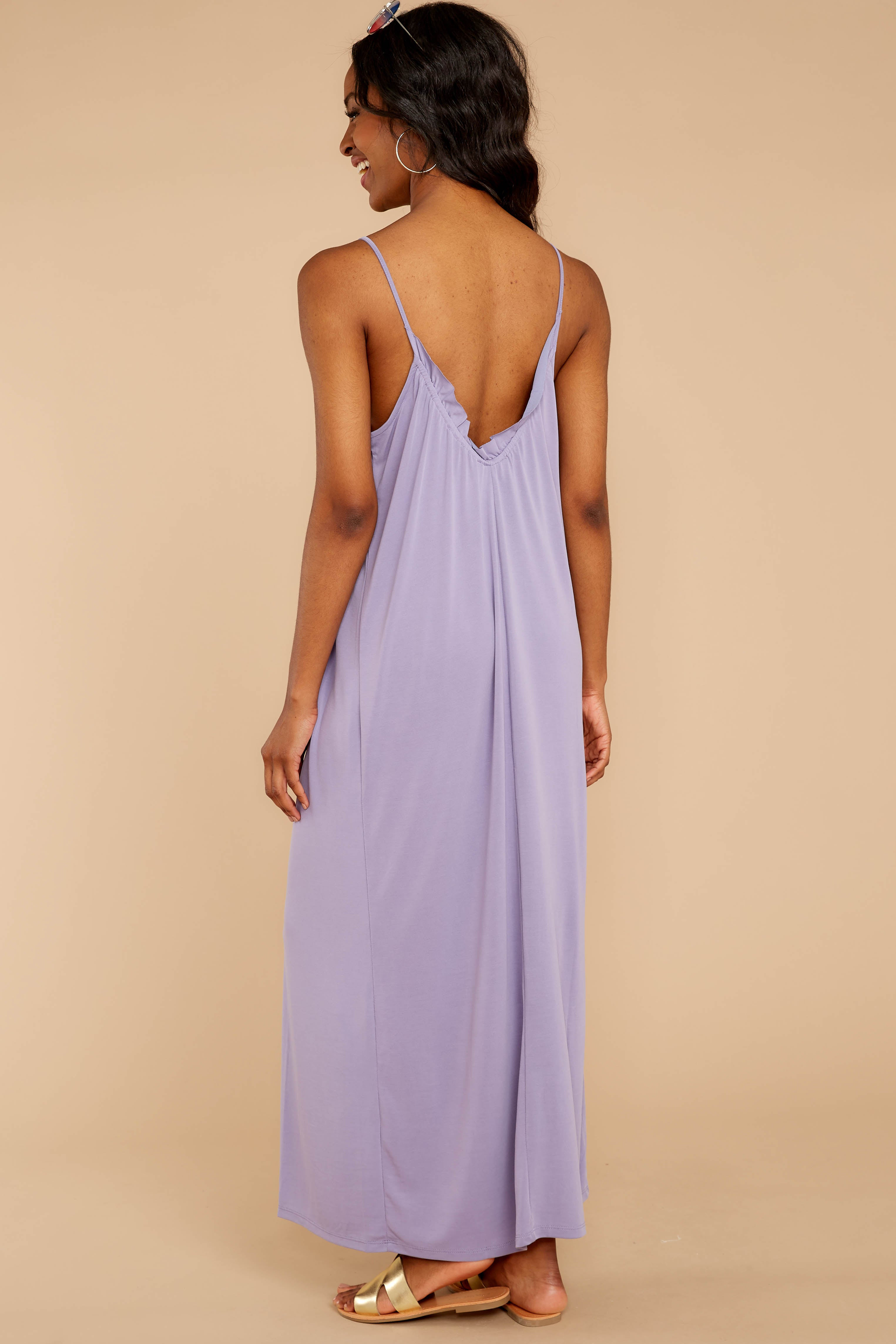7 There Is Nothing Better Lilac Maxi Dress at reddressboutique.com