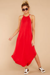 1 Close Your Eyes Red Maxi Dress at reddressboutique.com
