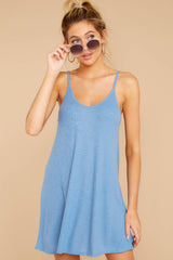 4 Do What You Need Periwinkle Dress at reddressboutique.com