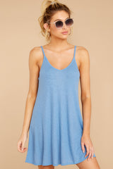 6 Do What You Need Periwinkle Dress at reddressboutique.com