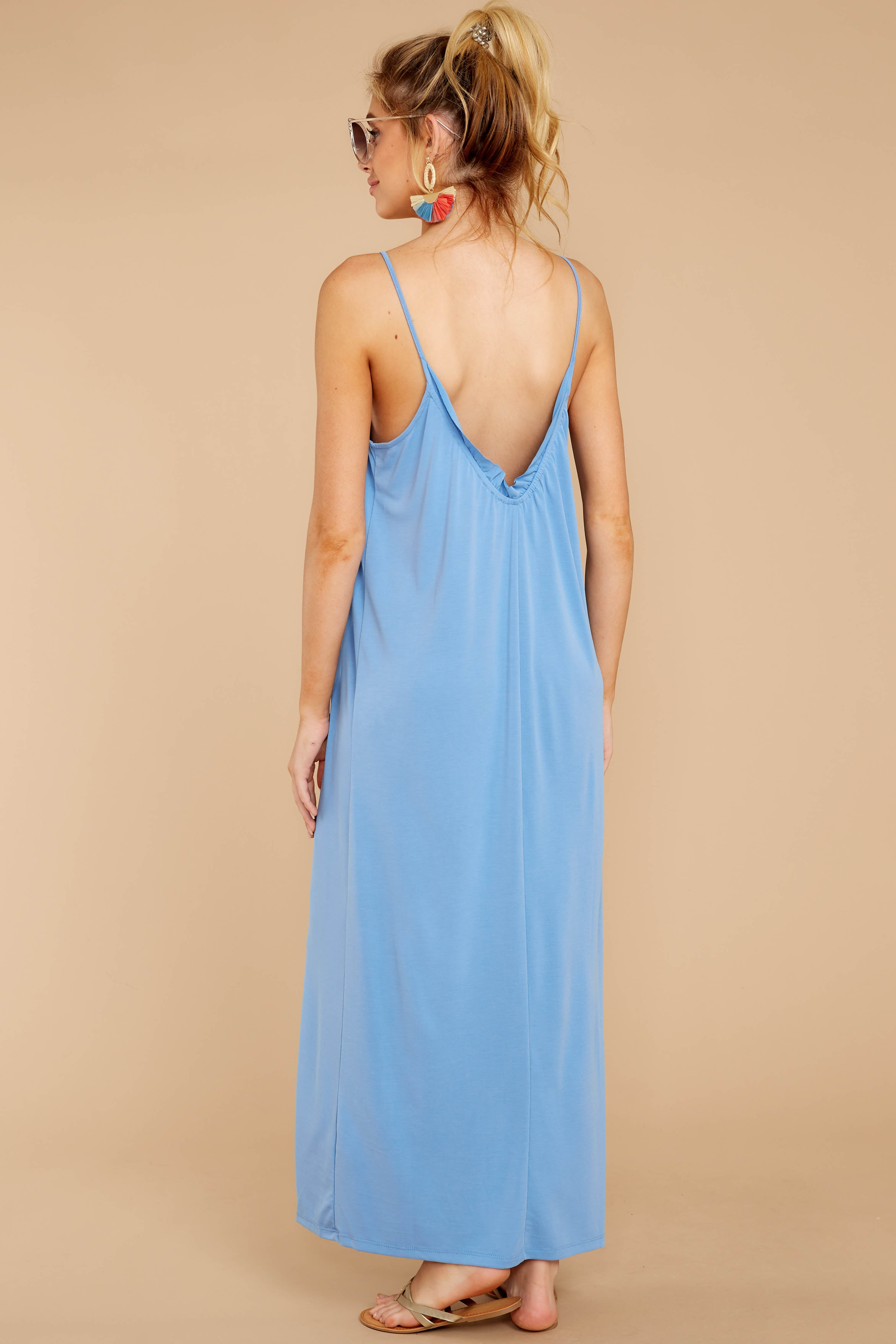 5 There Is Nothing Better Periwinkle Maxi Dress at reddressboutique.com