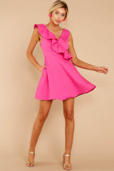 1 Dependably Sweet Fuchsia Pink Dress at reddress.com