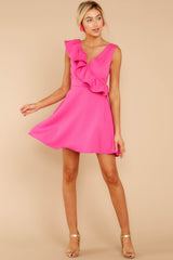 2 Dependably Sweet Fuchsia Pink Dress at reddress.com
