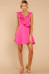 3 Dependably Sweet Fuchsia Pink Dress at reddress.com