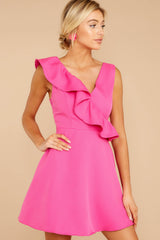 4 Dependably Sweet Fuchsia Pink Dress at reddress.com