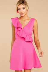5 Dependably Sweet Fuchsia Pink Dress at reddress.com