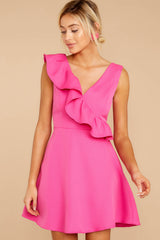 6 Dependably Sweet Fuchsia Pink Dress at reddress.com