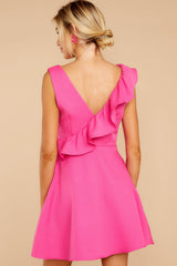 7 Dependably Sweet Fuchsia Pink Dress at reddress.com