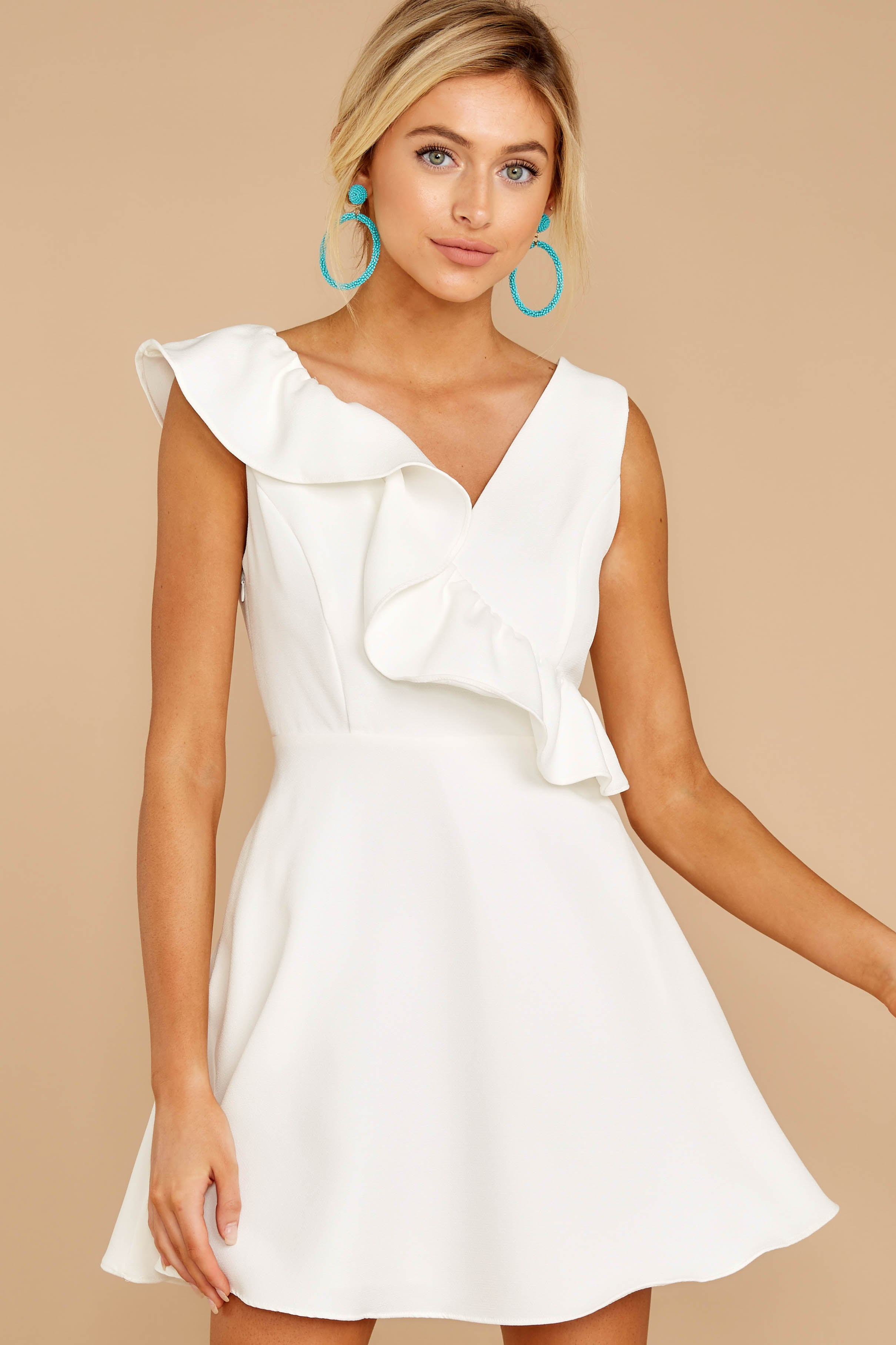 Dependably Sweet White Dress
