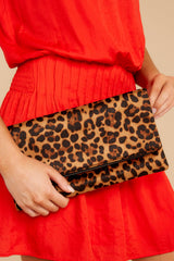2 Going Out Leopard Print Clutch at reddress.com