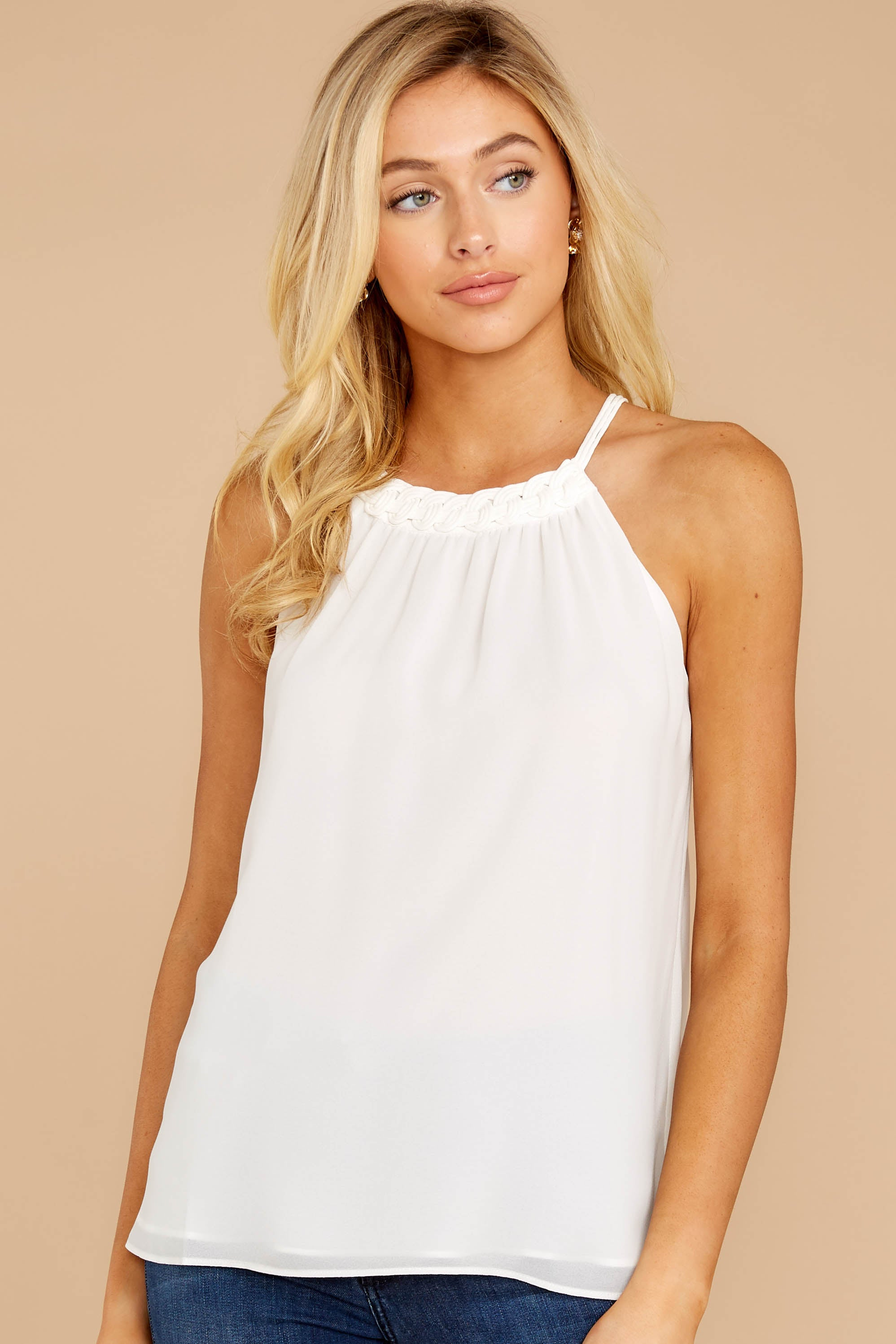 4 Anything For This White Top at reddressboutique.com