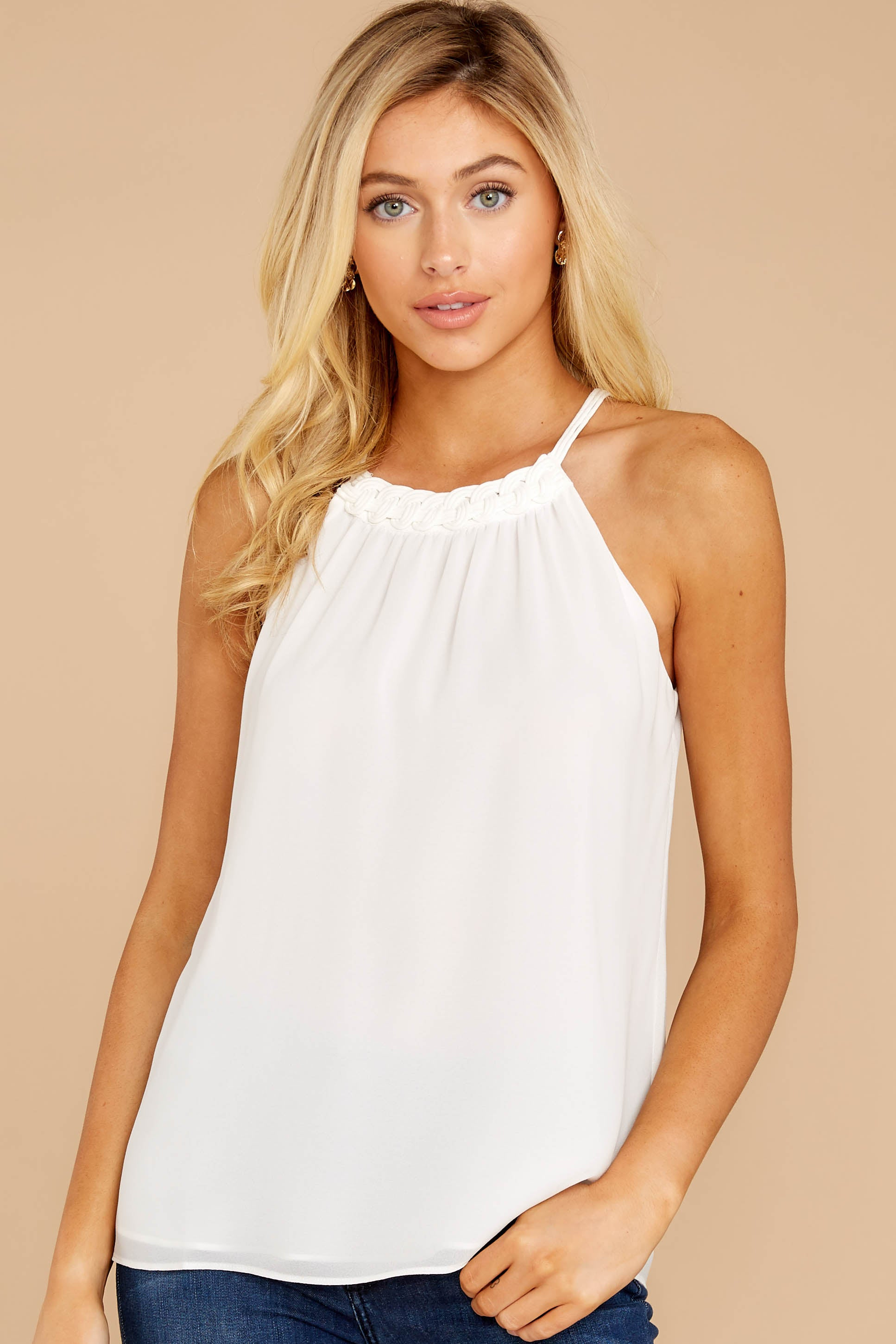 7 Anything For This White Top at reddressboutique.com
