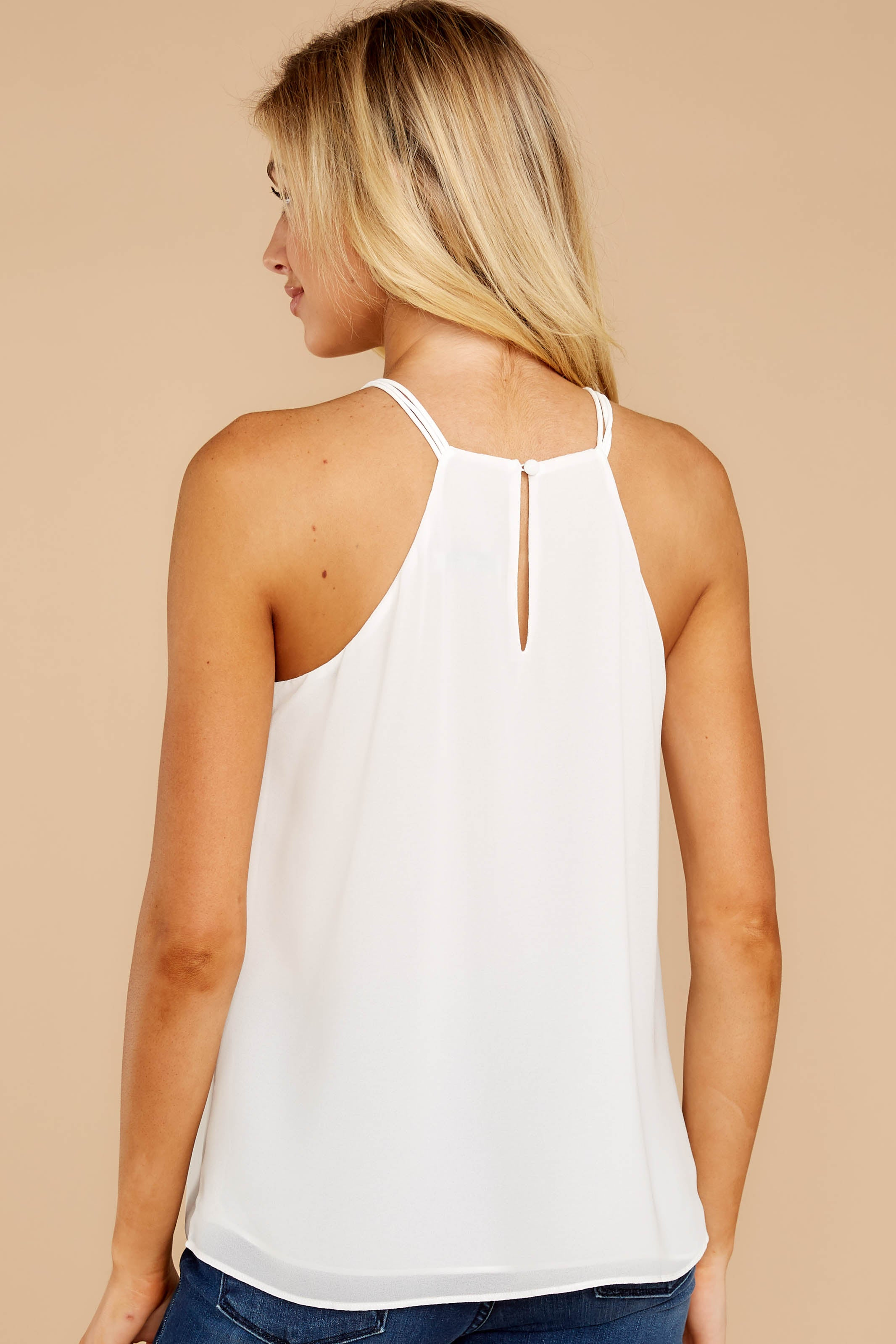 8 Anything For This White Top at reddressboutique.com