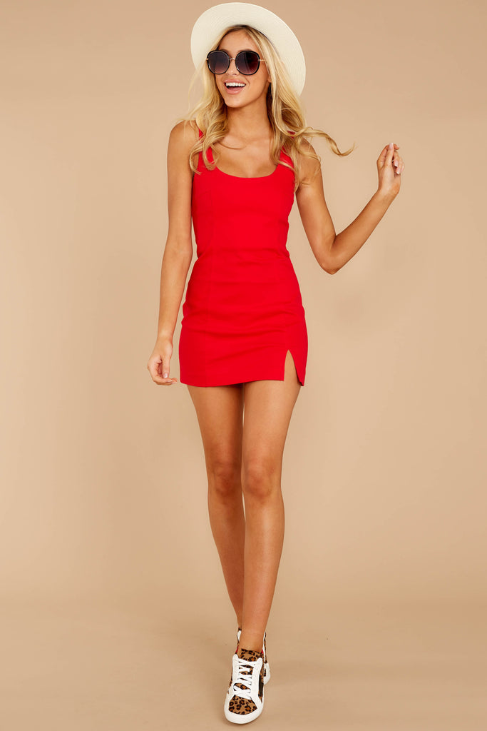 A Night Like This Ruby Red Dress at Red Dress.com