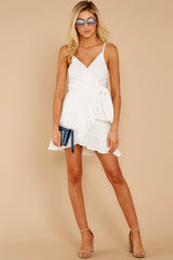 2 Just One Night White Dress at reddressboutique.com