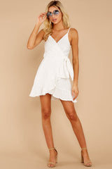 4 Just One Night White Dress at reddressboutique.com