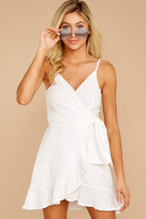 5 Just One Night White Dress at reddressboutique.com